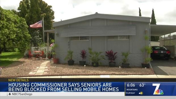 Seniors Blocked From Selling Mobile Homes in Oceanside