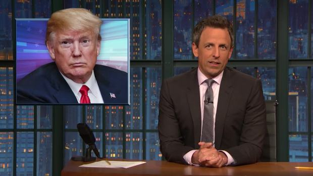 [NATL] 'Late Night': A Closer Look at Trump on Immigration, Family Separation
