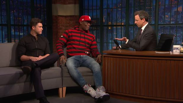 [NATL] 'Late Night': Michael Che and Colin Jost Talk About Being Co-Head Writers of SNL