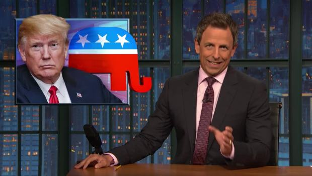 [NATL] 'Late Night': A Closer Look at Wednesday's Trump Rally
