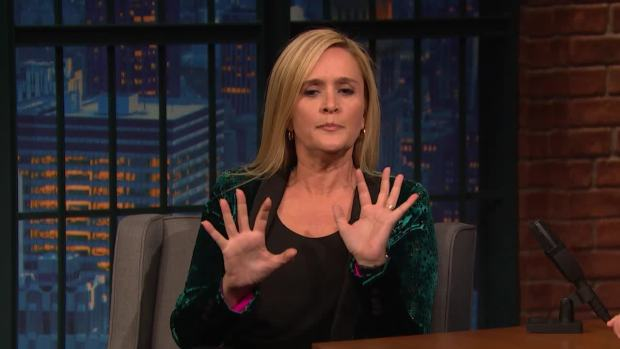 [NATL] 'Late Night': Waitressing Helped Samantha Bee Prepare for Trump