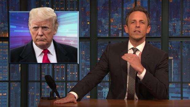 [NATL] 'Late Night': A Closer Look at Trump's Lie About Raking in Finland