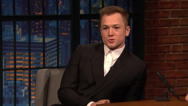 [NATL] 'Late Night': Elton John Gave Taron Egerton His Drag Name