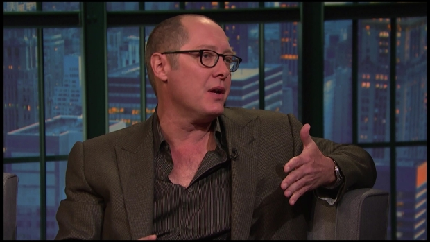 "Meyers: James Spader on ""The Blacklist"""