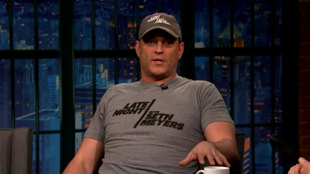 [NATL] 'Late Night': Vince Vaughn Missed Cubs' Historic Win for Meyers