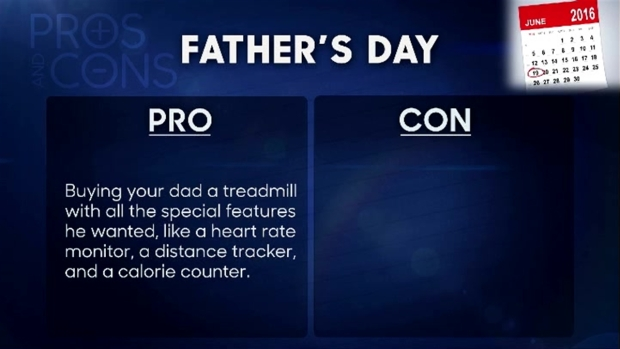 [NATL] 'Tonight Show': Pros & Cons of Father's Day