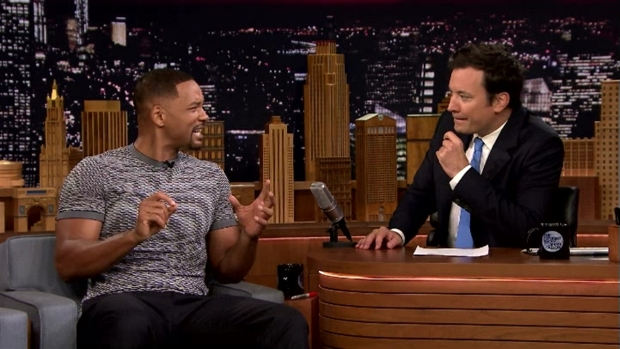 [NATL] 'Tonight Show': Will Smith Thinks Racism Isn't Getting Worse