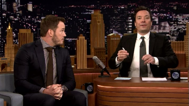 'Tonight Show': Mad Lib Theater With Chris Pratt