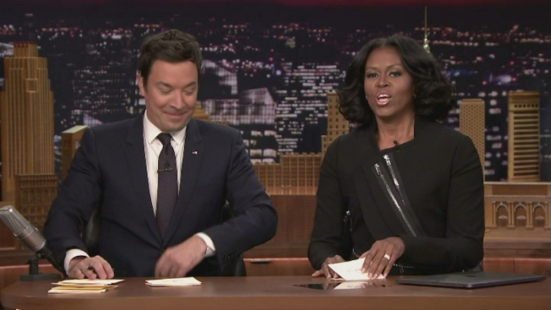 [NATL] 'Tonight Show': Thank You Notes With FLOTUS