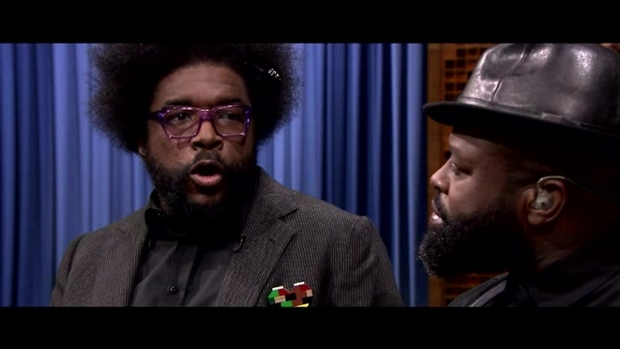 'Tonight Show': The Roots Reenact a 'Bachelor' Confrontation
