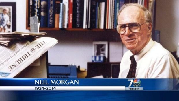 [DGO] San Diego Newsman Neil Morgan Dies