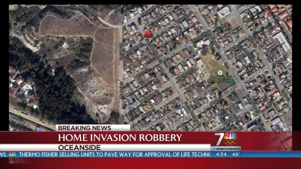 [DGO] Home Invasion Robbery Reported in Oceanside