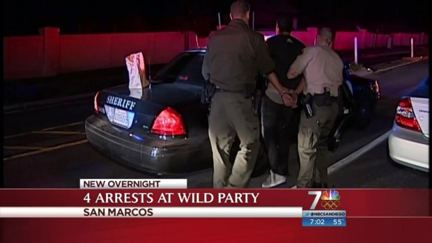 [DGO] Man Arrested for Social Host Ordinance Violation at San Marcos House Party