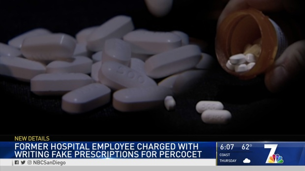 Woman Accused of Using Stolen Prescriptions for Percocet