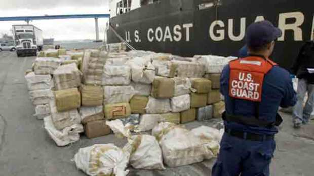Coast Guard:$15 Million Of Marijuana Seized from Smugglers