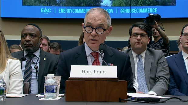 [NATL] Pruitt Faces Make or Break Capitol Hill Hearings