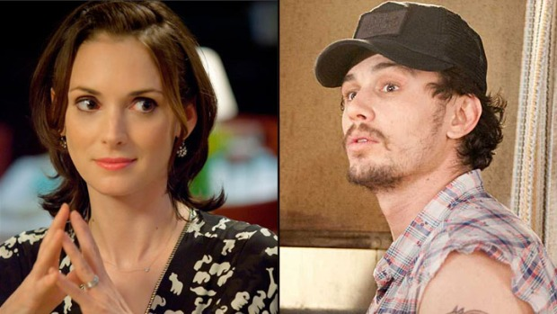 "James Franco and Winona Ryder Will Give Each Other ""The Stare"""