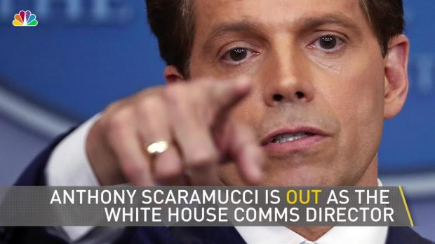 Scaramucci Out as WH Communications Director