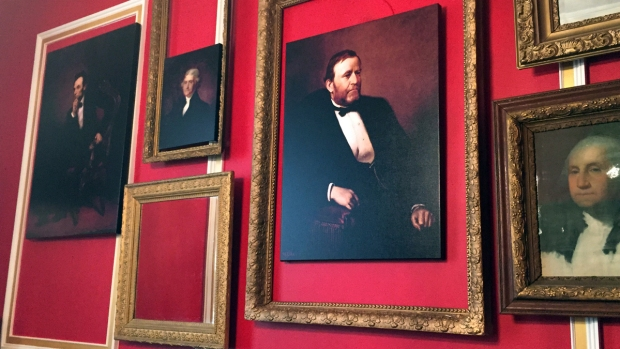 "[NATL] Photos of Rep. Aaron Schock's ""Downton Abbey"" Office"