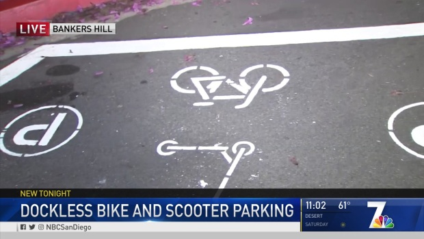 City Testing New Parking Zones for Dockless Scooters and Bikes