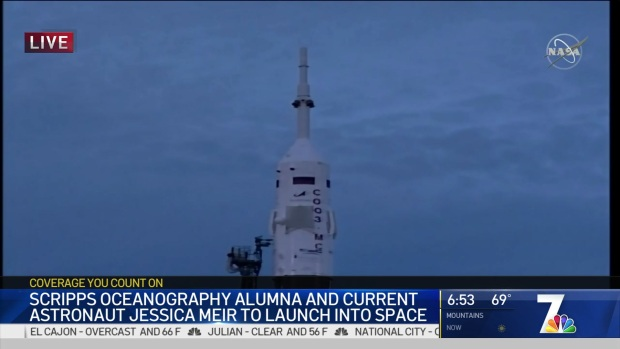 UCSD Alumna Jessica Meir Launches Into Space