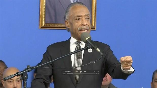 [NATL] Speakers Take Aim at Trump During MLK Event