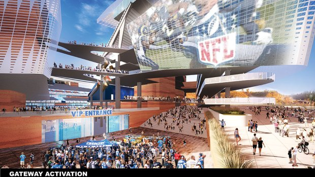 Mayor Releases Stadium Concepts
