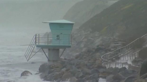 [DGO] Windy Conditions Along San Diego's Coast