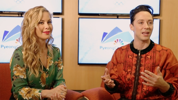 Tara Lipinski and Johnny Weir Make Pyeongchang Predictions
