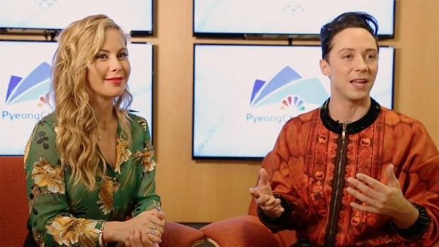 [NATL] Tara Lipinski and Johnny Weir Make Pyeongchang Predictions
