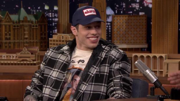 [NATL] 'Tonight': Pete Davidson Thinks Being Engaged to Ariana Grande Is 'Lit'