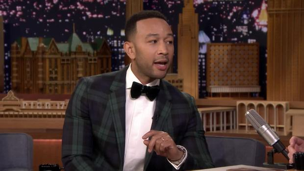[NATL] 'Tonight': John Legend Reacts to Being Trolled by Chrissy Teigen