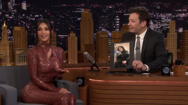 [NATL] 'Tonight': Kim Kardashian West Addresses Kylie-Travis Rumors