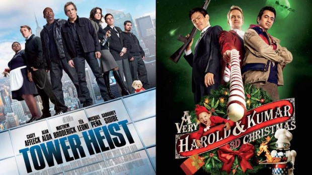 "This Week's New Movies: ""Tower Heist,"" ""A Very Harold & Kumar 3D Christmas"" and More"