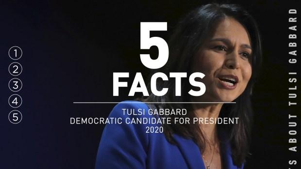 [NATL] 5 Facts: Tulsi Gabbard
