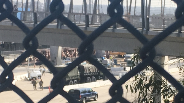 Images: US Troops Deployed to U.S.-Mexico Border
