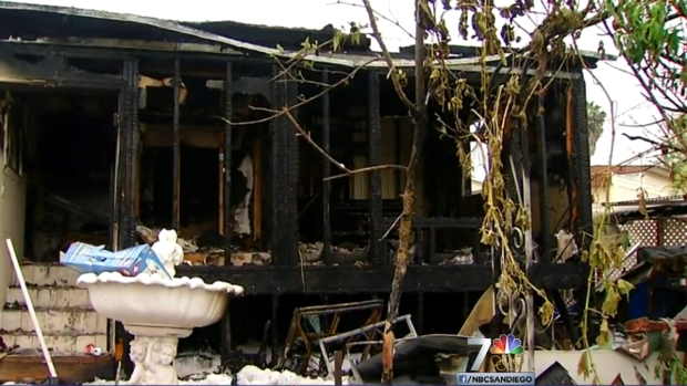 [DGO] Dog Dies, Home Damaged in Vista Mobile Home Fire
