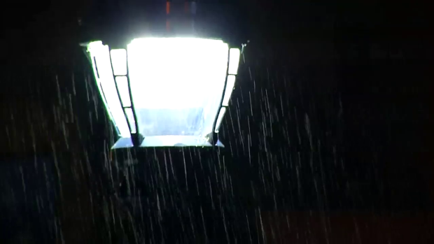 WATCH: Rain Showers Sweep San Diego