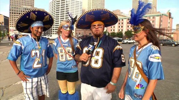 [DGO] Chargers Fans Bolt to New Orleans