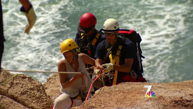[DGO] Tourist Gets Stuck on Torrey Pines Cliff