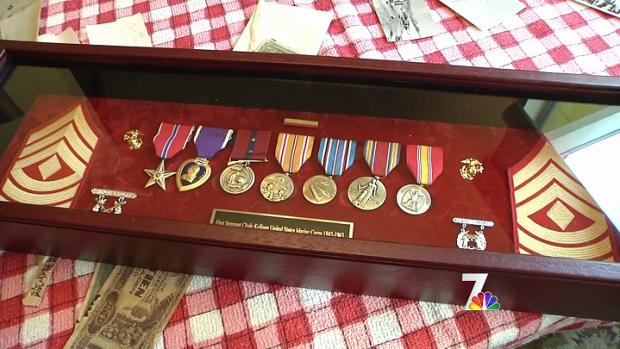 [DGO] Marine Vet's Stolen Medals Replaced