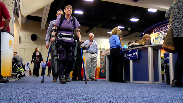 [NATL-DGO] ReWalk Exoskeleton System Helps Paralyzed Veterans