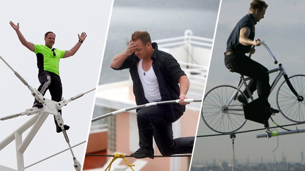 [NATL] Daredevil Nik Wallenda's Stunts