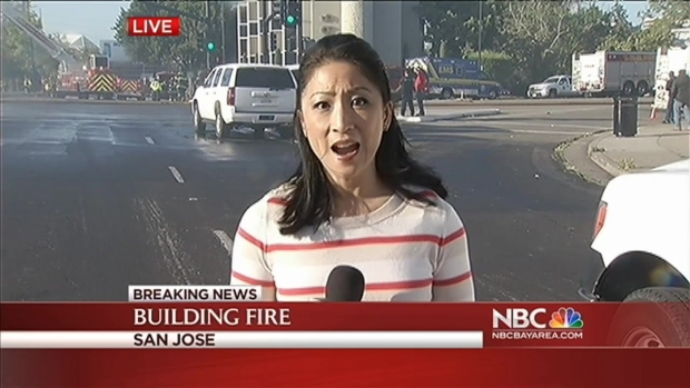 [BAY] Update: 5-Alarm Fire Burning in Downtown San Jose