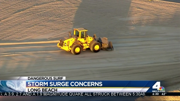 [LA] Surfers, Swimmers Urged to Avoid Beaches As Storm Surge Nears