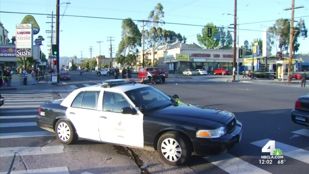 [LA] Officers Remember Slain Colleague at Memorial Service