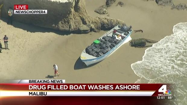 [LA] Boat Washes Ashore With Marijuana Bundles