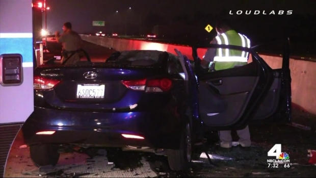[LA] 3 Dead in Wrong-Way Rancho Cucamonga Crash