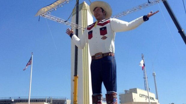 [DFW] Big Tex's Big Reveal a Day Early