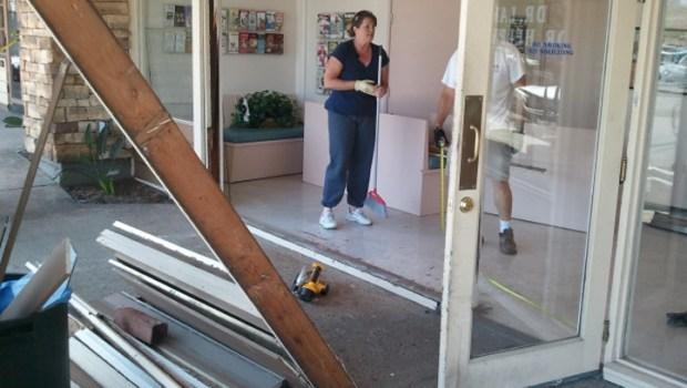 Car Crashes Into Veterinary Shop: La Mesa